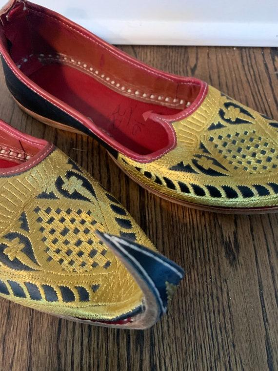 Vintage Mens Khussa Shoes/Mens Wedding Shoes