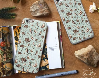 Otter Phone Case Otter iPhone Case Cute Otter Case Otter Samsung Case Sea Otter iPhone Case Cute Otter Gifts For Otter Lovers