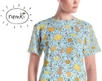 Süße Capybara T-shirt Wasserschweine T-shirt Frauen Capybara oben Capybara Kleidung Capybara Geschenk für Sie