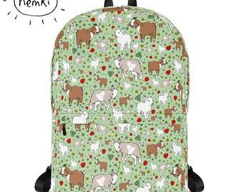 4974d8f885e4 Animal backpack | Etsy