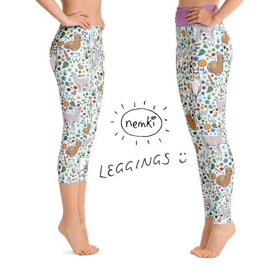 dd481e4bc1 Llama Leggings Ladies Llama Leggings for Women Llama Women Llama Clothes  Women Llama Leggings Llama Fashion Llama Yoga Pants