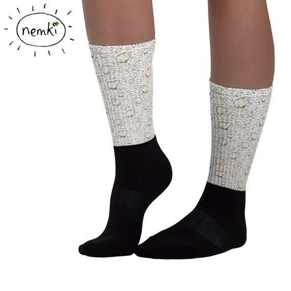 pack of 10 pairs for men/'s women/'s 10pairs Cute Brown Bear Brown bear socks