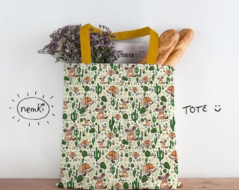 Fennec Fox Cute Desert Bag Fox Gifts for Her Fennec Fox Bag Fennec Foxes Desert Bag Cute Fox Bag Cute Fox Tote Fennec Fox Gifts