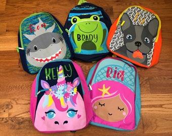 3a9528995f8 Shark backpack | Etsy