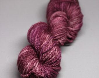 aqueous -  Hand Dyed Yarn - Aran Twist 100% Superwash Merino - {aqueous}