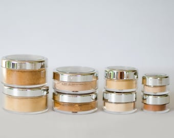 Natural Cosmetics Matte Mineral Foundation Loose Makeup Powder by RAW Beauty LLC