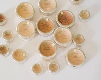 Vegan Foundation Makeup, Natural Makeup, Mineral Foundation, Natural Foundation Powder by RAW Beauty LLC