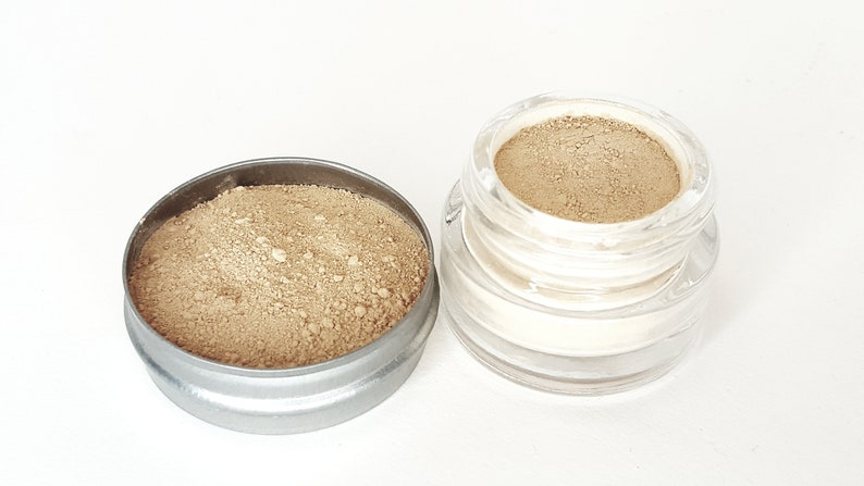 Face Powder Foundation | Natural Makeup | Vegan Makeup | Mineral Foundation Makeup | Makeup Powder | Clean Face Cosmetics | RAW Beauty LLC