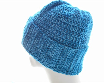 CROCHET PATTERN: The Wyder Beanie and Slouchy for Men and Women, Crochet Hat Pattern, Instant Download PDF