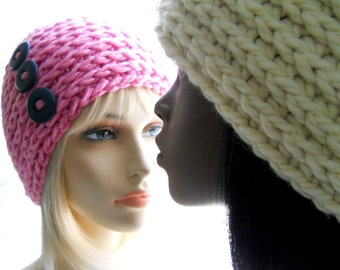 CROCHET PATTERN: The BeeBee Beanie for Men and Women, Hat Pattern, Instant Download PDF