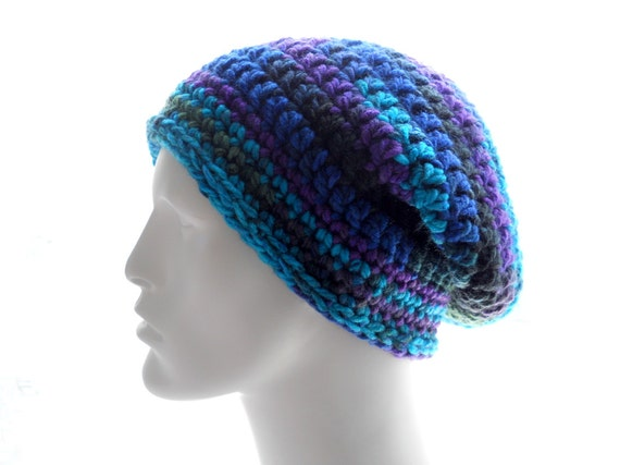 Crochet Pattern The Shapely Slouchy Hat Pattern For Women And Etsy