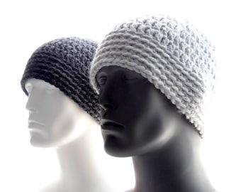 CROCHET PATTERN: The Chunky Guy Beanie for Men, Crochet Hat Pattern, Instant Download PDF