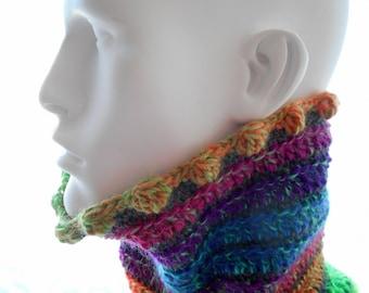 CROCHET PATTERN: Spiriferous, a Crochet Cowl Pattern for Men and Women