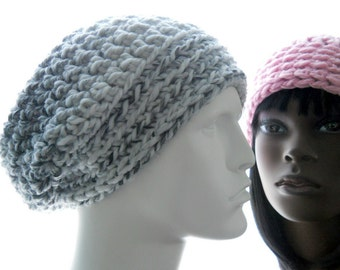 CROCHET PATTERN: The Hiro Slouchy for Men and Women Hat Pattern, Instant Download PDF