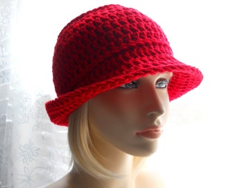CROCHET PATTERN: The Snazzy Hat for Men and Women, Instant Download PDF