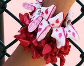 Red Lipstick Doll Shoe Bracelet(c) by Sara Gallo