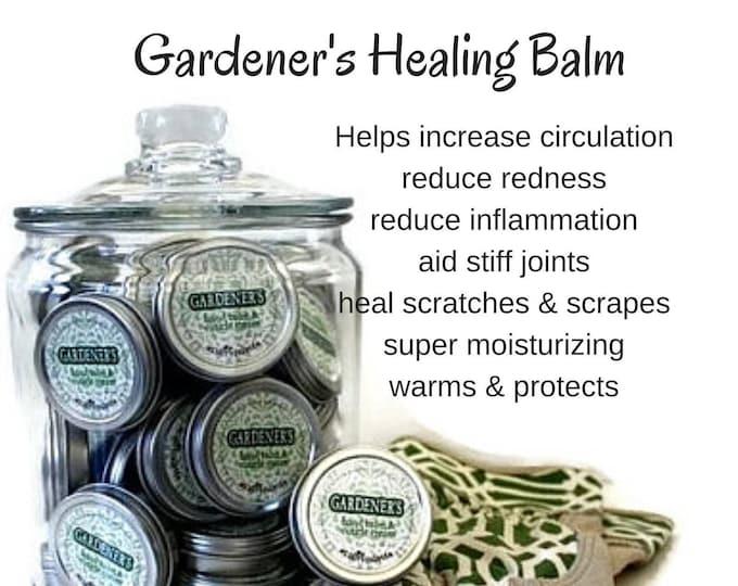 Gardener's Healing Hand Balm, Gardening Cream for Cuticle Repair, Deep Healing hand balm