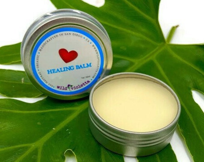 Organic Healing Hand Balm, Powerful Essential Oil All Purpose Skin Care
