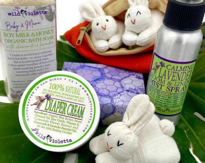 Baby Gift Box, New Mom and Newborn Baby Shower Gift Set