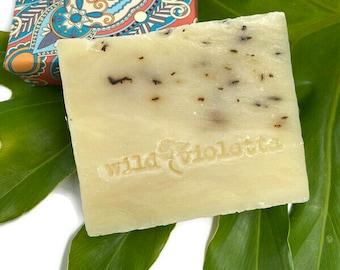 Christmas Stocking Stuffer / Detox Soap Eucalyptus Tea Tree, Handcrafted Soap Bar, Soap for Men