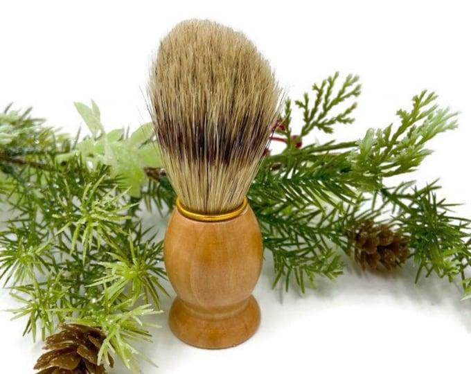 Shaving Brush, Stocking Stuffer, Men's Shave Brush, Groomsmen Gift