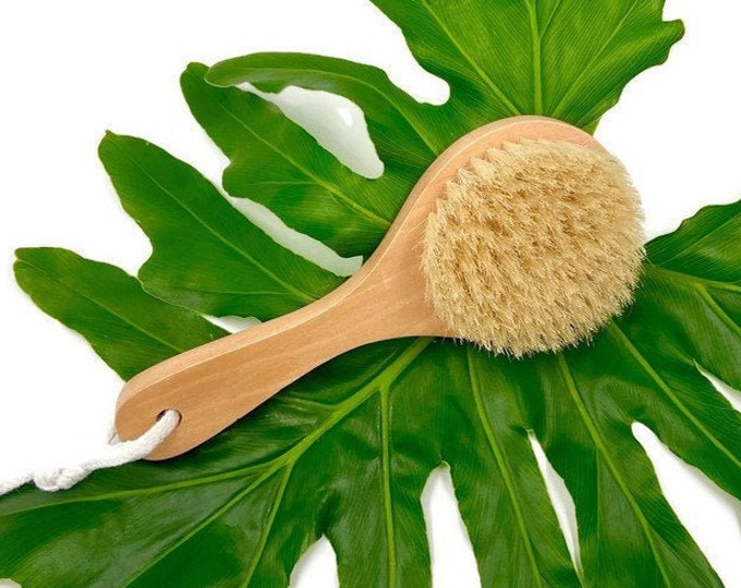 Exfoliating Dry Body Brush, Detox Dry Brushing