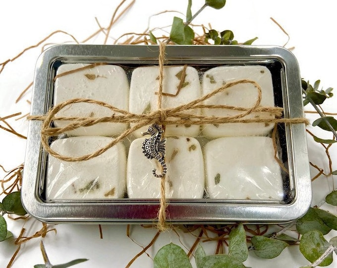 Shower Steamers, Gift for Dad, Menthol and Eucalyptus Sinus Tabs, revitalizing morning routine for self care