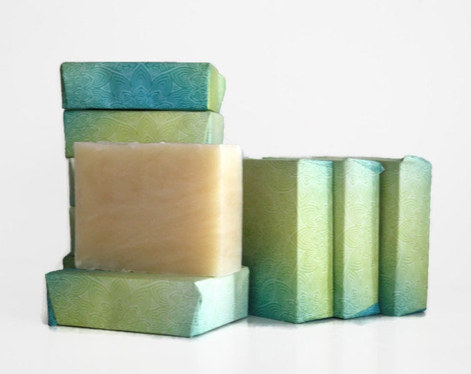 Detox Soap Eucalyptus Tea Tree, Men's Stocking Stuffer Soap