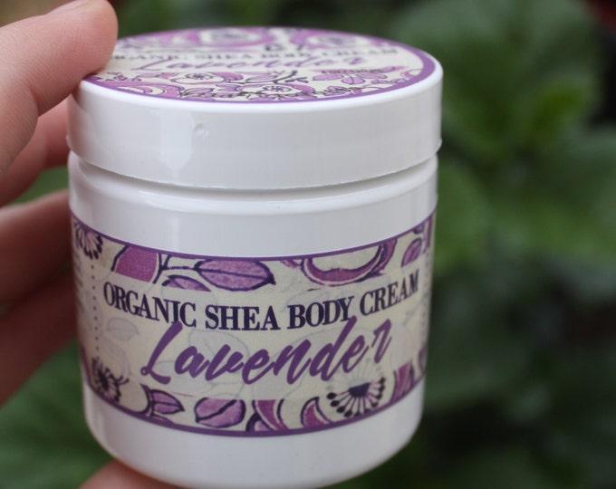 Lavender Body Butter, Organic Shea Body Butter