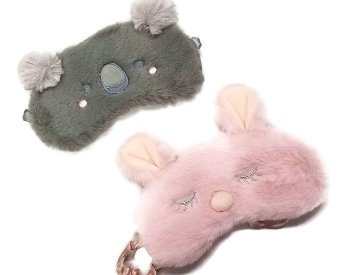 Sleeping Eye Mask / Stocking Stuffer with Lavender Pillow Mist