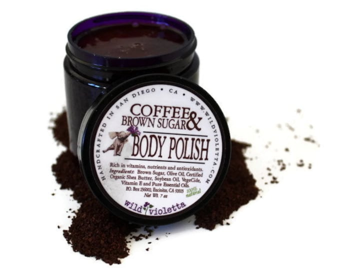 Coffee Sugar Scrub / Body Polish fresh Coffee