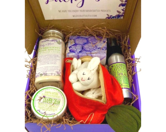 Baby's First Christmas Gift Box / Mom and Baby Spa Gift Box