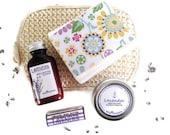 Gifts for Her / Lavender Spa Gift Set / Lavender Lovers