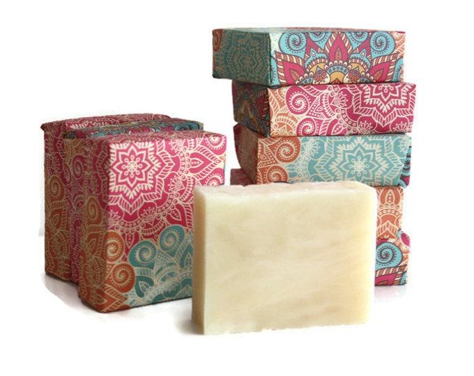 Gardenia Soap, Natural Floral Shea Butter Soap Bar