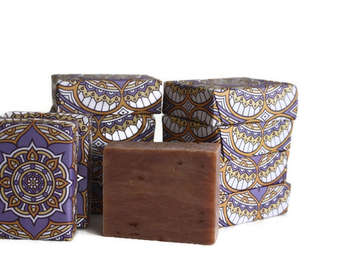 Lavender Natural Soap Bar / Stocking Stuffer