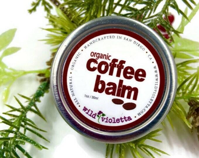 Coffee Hand Balm Stocking Stuffer