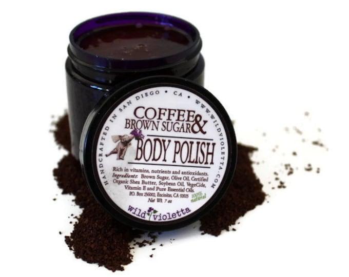 Coffee Sugar Scrub / Body Polish fresh Coffee
