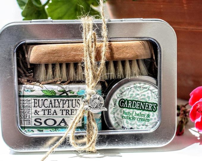 Gardening Gift Tin, Gardener's Care Package