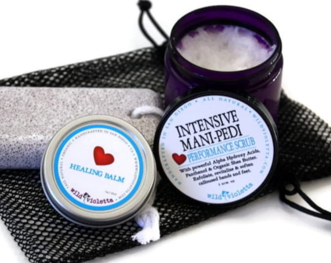 Self Care Pedicure Kit / Home Spa Pedicure Thinking of You Gift