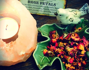 ROSE BUDS, Rose Petals Dried, Loose Flower, Witches Apothecary