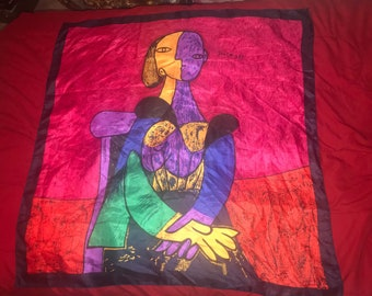 Vintage Picasso scarf bandana