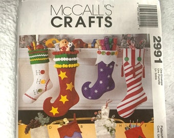 McCall's Crafts 2991 Christmas Stock Patterns!
