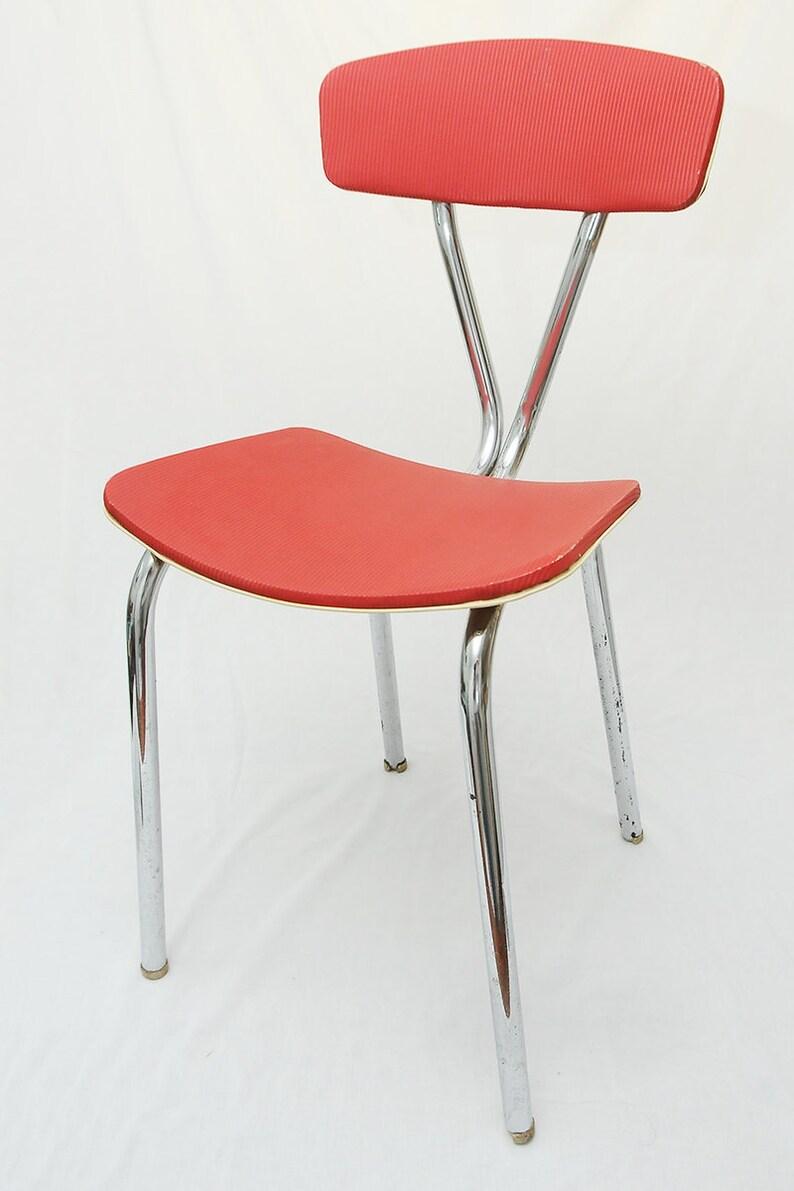 Red Kitchen Chair