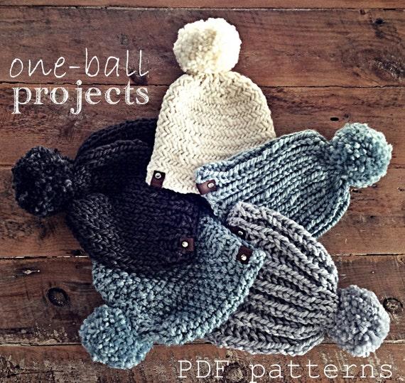 The Seeding Stitch Hat Pdf Knitting Pattern Adult