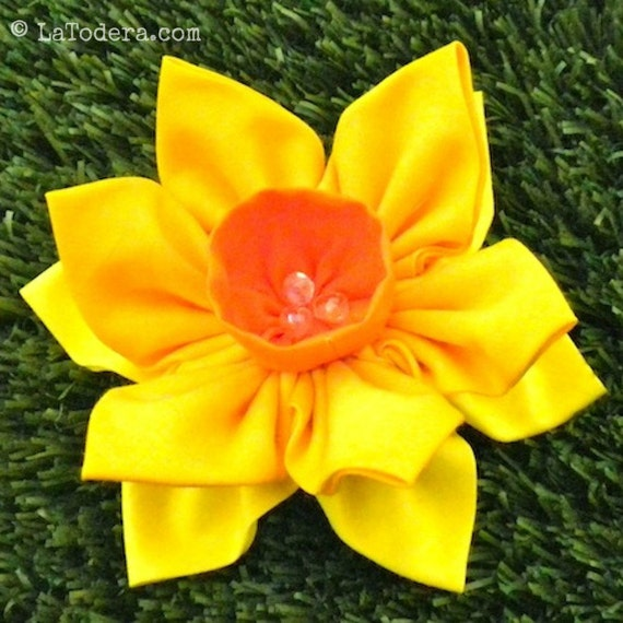 How to make an origami daffodil flower: page 1 | 570x570
