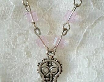 Day of the Dead / Dia De Los Muertos (Sugar Skull) Necklace