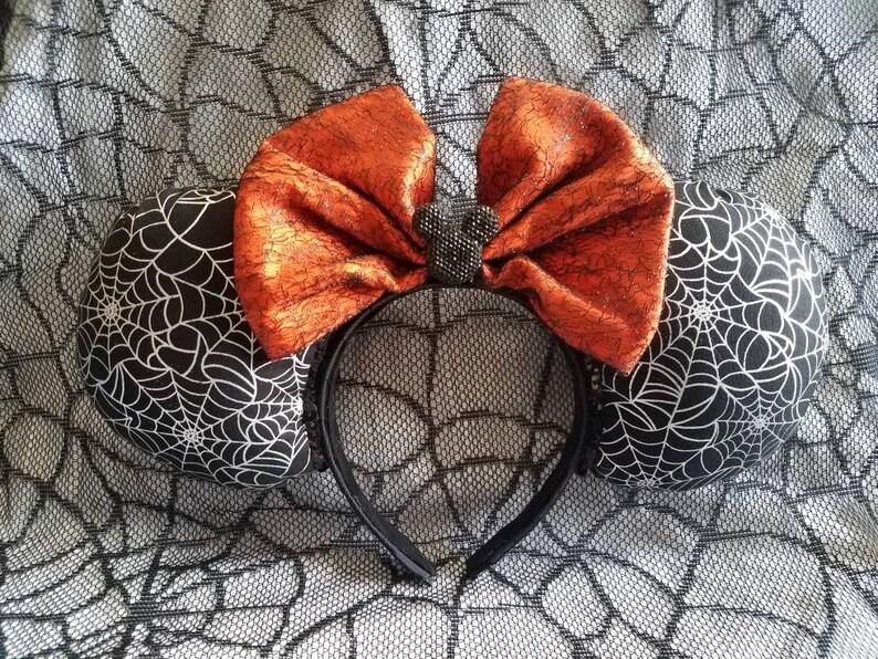 Jumbo Halloween Spider Web Mouse Ears