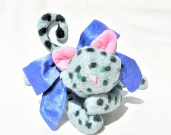 Snow Leopard Plush Etsy