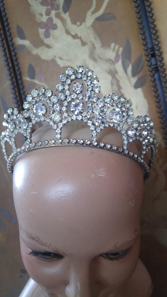 1920's Diamante tiara