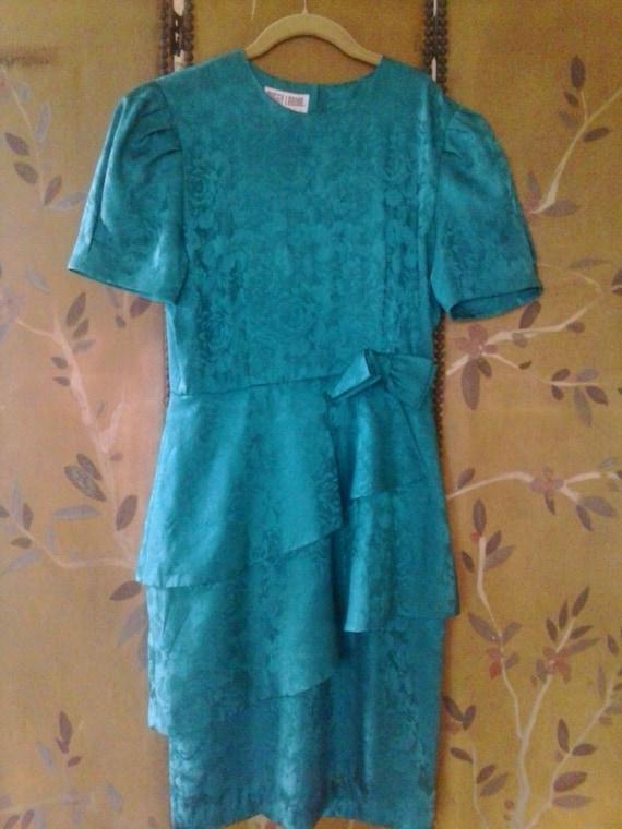Vintage silk Maggy London dress